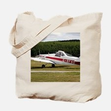 Low wing tricycle glider tow plane Tote Bag