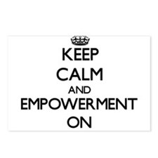Keep Calm and EMPOWERMENT Postcards (Package of 8)