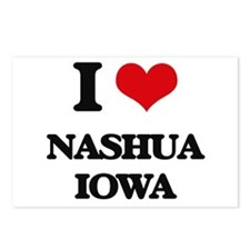 I love Nashua Iowa Postcards (Package of 8)