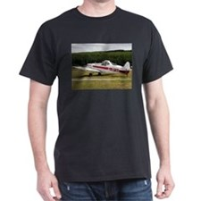 Low wing tricycle glider tow plane T-Shirt
