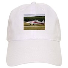 Low wing tricycle glider tow plane Baseball Cap