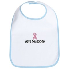 'Save The Boobs' Bib
