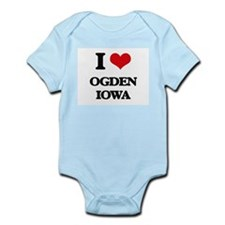 I love Ogden Iowa Body Suit