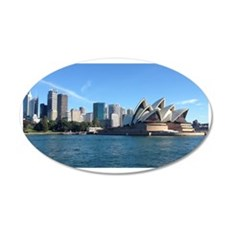 Sydney Opera House Wall Decal Sticker