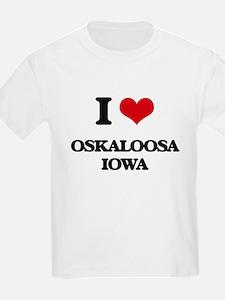 I love Oskaloosa Iowa T-Shirt