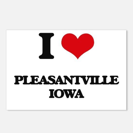 I love Pleasantville Iowa Postcards (Package of 8)