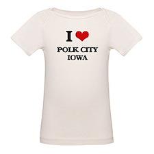 I love Polk City Iowa T-Shirt