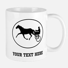 Harness Racing Oval (Custom) Mugs