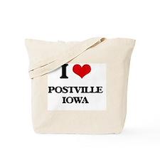 I love Postville Iowa Tote Bag