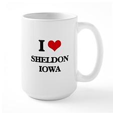 I love Sheldon Iowa Mugs