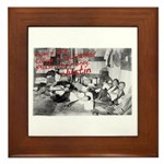Awesome College Opium Framed Tile