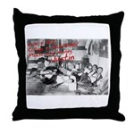Awesome College Opium Throw Pillow