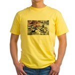 Awesome College Opium Yellow T-Shirt