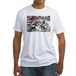 Awesome College Opium Fitted T-Shirt