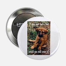 "Dog Coat 2.25"" Button"