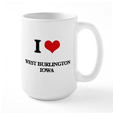 I love West Burlington Iowa Mugs
