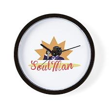 Soul Man Wall Clock