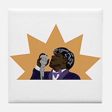 James Brown Tile Coaster