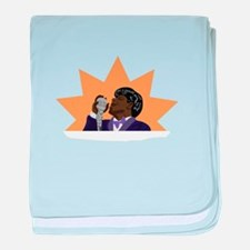 James Brown baby blanket