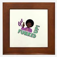 Funked Up Framed Tile