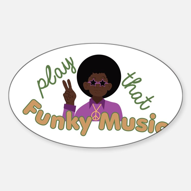 Funky Music Decal