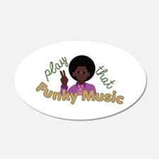Funky Music Wall Decal