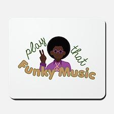 Funky Music Mousepad