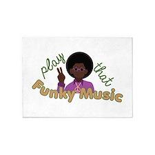 Funky Music 5'x7'Area Rug