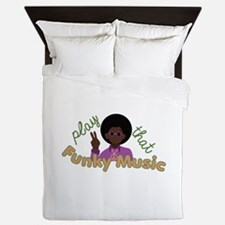 Funky Music Queen Duvet