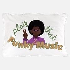 Funky Music Pillow Case