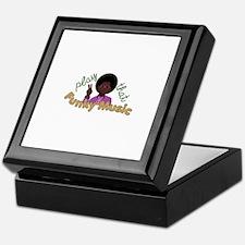 Funky Music Keepsake Box