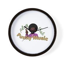 Funky Music Wall Clock