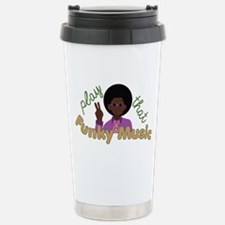 Funky Music Travel Mug
