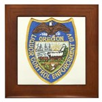 Oregon Liquor Control Framed Tile