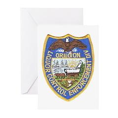 Oregon Liquor Control Greeting Cards (Pk of 10)