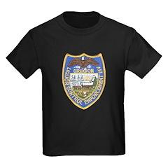 Oregon Liquor Control Kids Dark T-Shirt