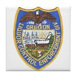 Oregon Liquor Control Tile Coaster