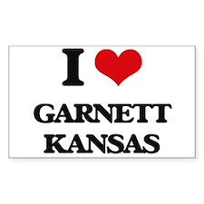 I love Garnett Kansas Decal