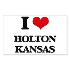 I love Holton Kansas Decal