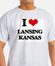 I love Lansing Kansas T-Shirt