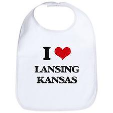 I love Lansing Kansas Bib