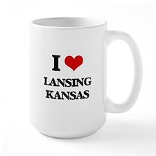 I love Lansing Kansas Mugs