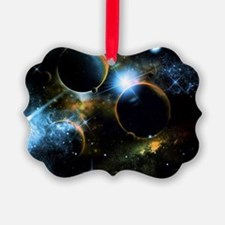 The universe of planets Ornament