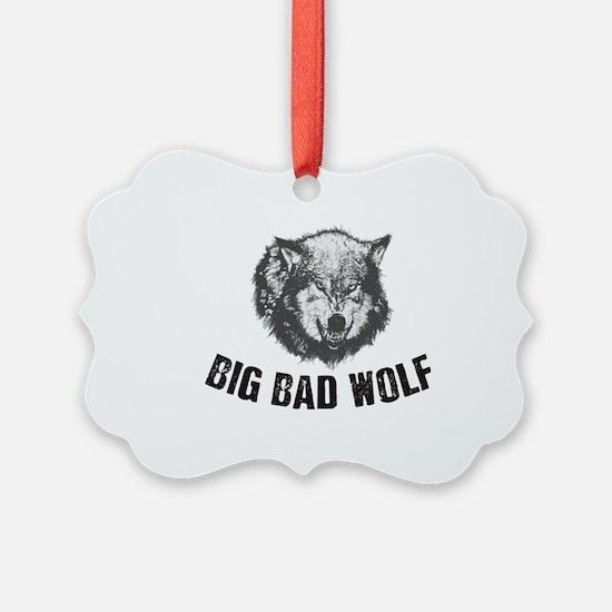 Big Bad Wolf Ornament