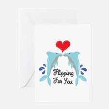Flipping For You Greeting Cards