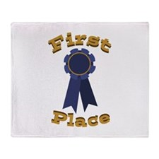 First Place Throw Blanket