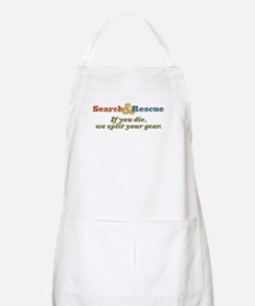 If You Die We Split Your Gear BBQ Apron