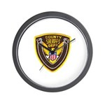 County Sheriff's Dept. Wall Clock