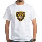 County Sheriff's Dept. White T-Shirt