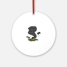 Tornado Ornament (Round)
